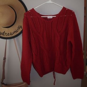 Ivy Rose red sweater